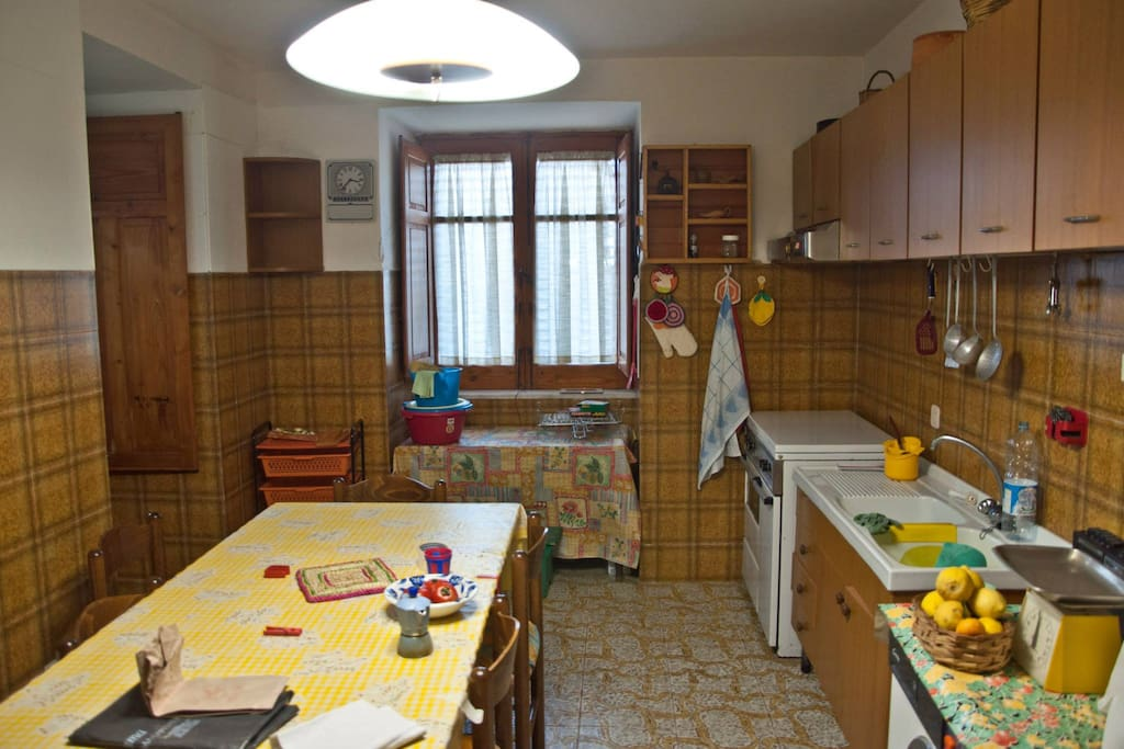 Cucina abitabile (piano terra)