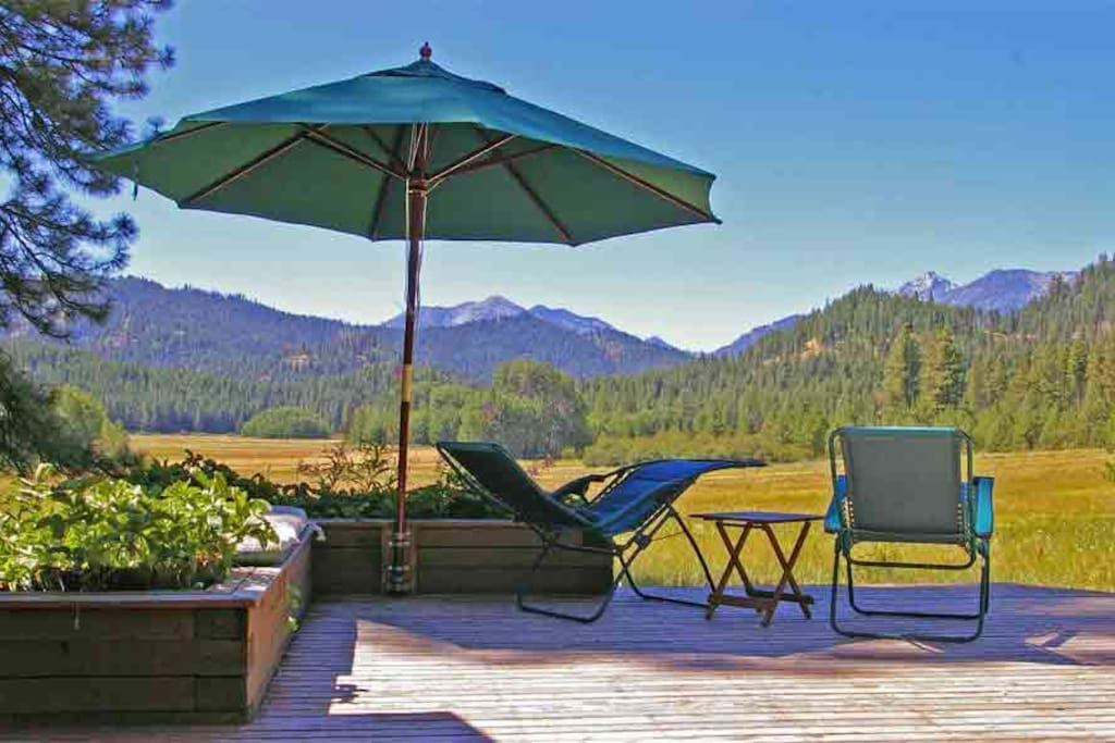 Experience the splendor of a high mountain meadow! Stay at Camas Meadows Eco-Lodge