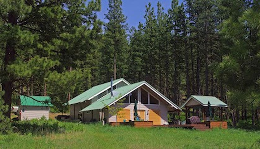Spectacular Camas Meadows Eco-Lodge - Leavenworth