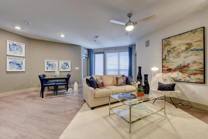 Well-equipped apartment home | 2BR in San Antonio