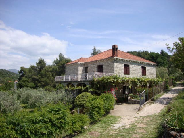 Family Danicic - Island of Sipan - Dubrovnik - Huis