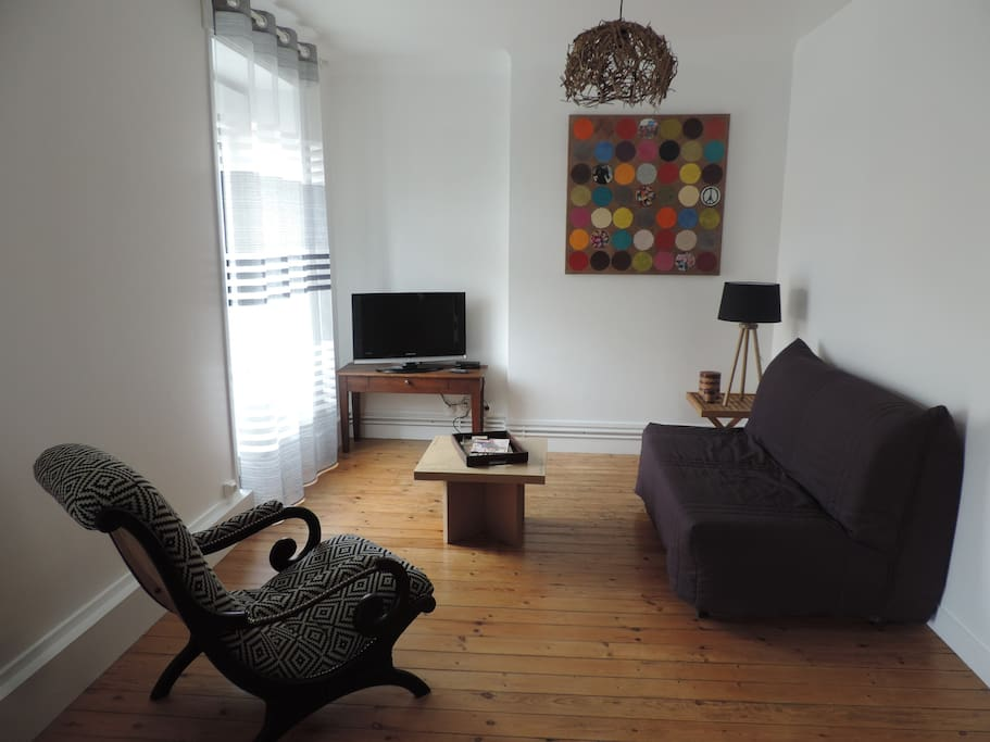 Salon avec BZ 140 x 190