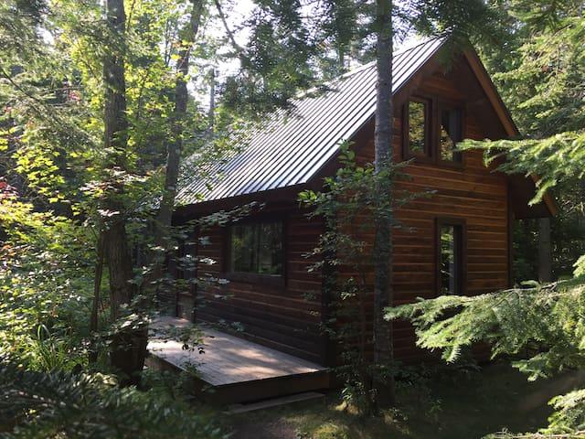 Refuge récréatif dans la forêt - Sainte-Lucie-des-Laurentides - Lomamökki