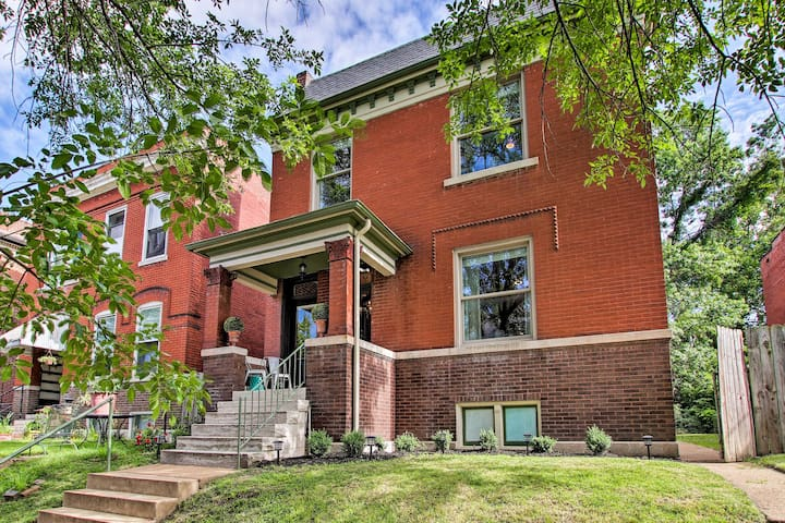 Historic St. Louis Home w/ Updated Interior!