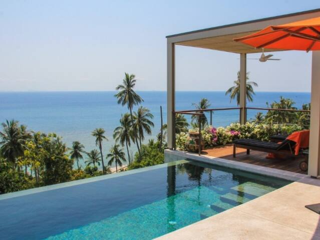 PLA TONG 3br - Pool, Sea view, Beach access