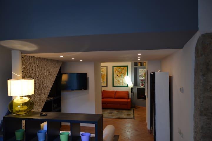 La dimora del Re Gaudente (private parking) - Capezzano Inferiore - Casa