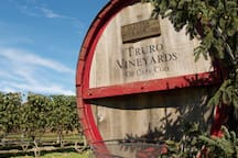 The discount card gives you 10% discount at Truro Vineyards which is just ten minutes away.