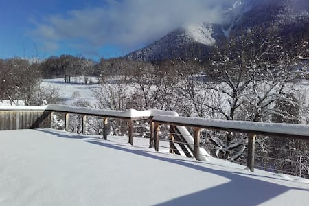 Proximité station de ski La Sambuy & lac d'Annecy. - Seythenex