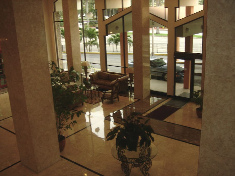 Lobby in the Pavilion