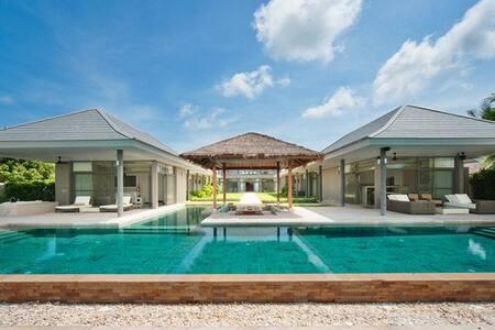 Exclusive beachfront villa on tropical island - Koh Samui, Thailand