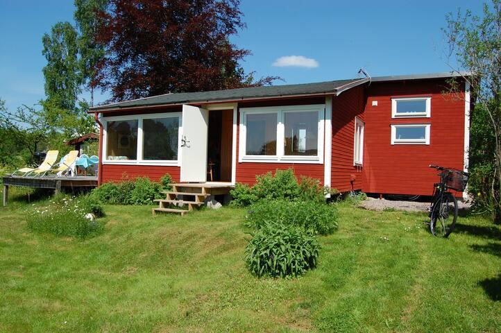 Swedish Summerhouse with Lake View
