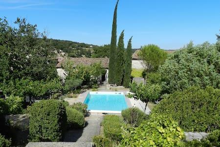 Tourmaline: stunning stone villa - Lussan - Rumah
