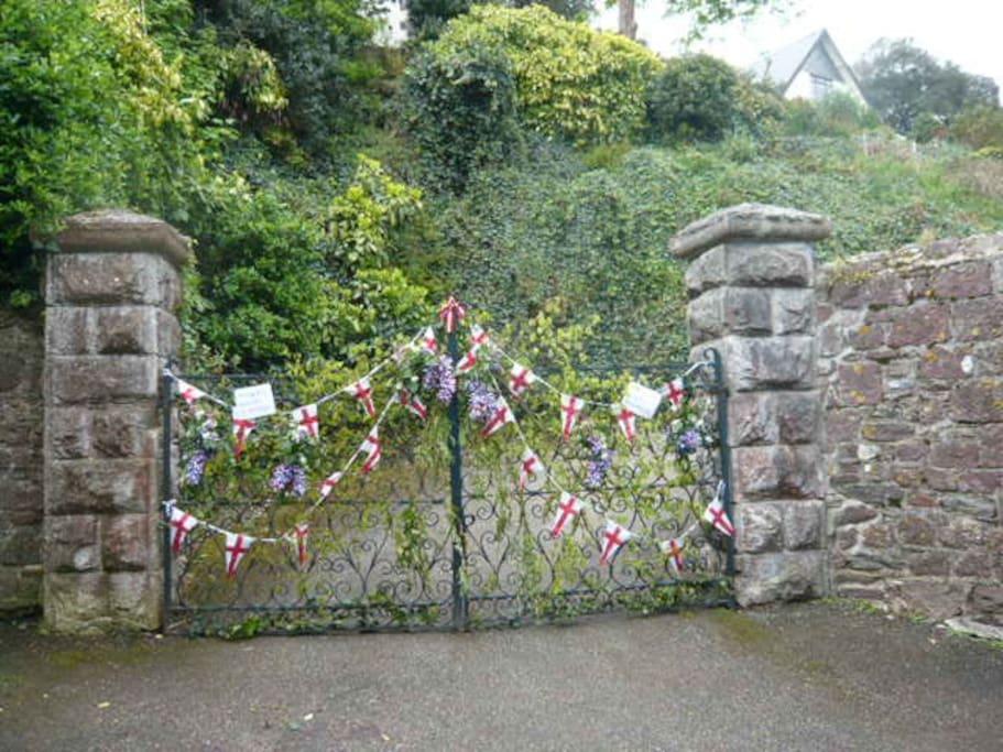 Gates to the village