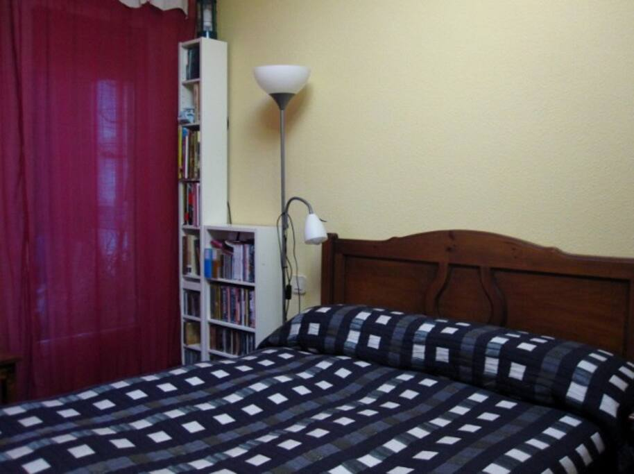 Bedroom with terraces