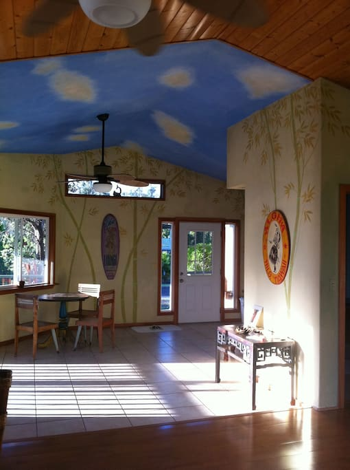 interior walls and ceiling painting by Nic Valle inc. of Los Angeles