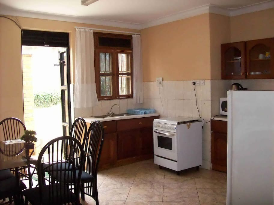 The Kitchen to one of  the apartments