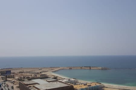 Awesome sea view! Mustafa Kamel Appartment