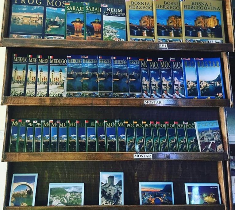 Fortuna offers many booklets and tourist info guides  for our guests.