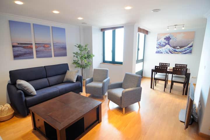 Apartamento en primera línea de playa (VIGO).