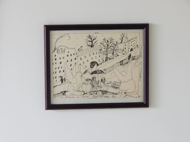 Drawing by Anna Florenskaya