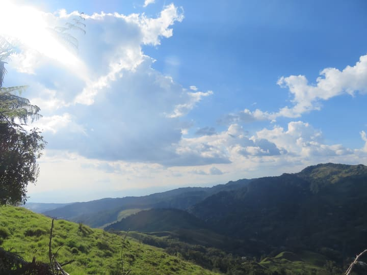 Camping on the Magic Mountain In Manizales