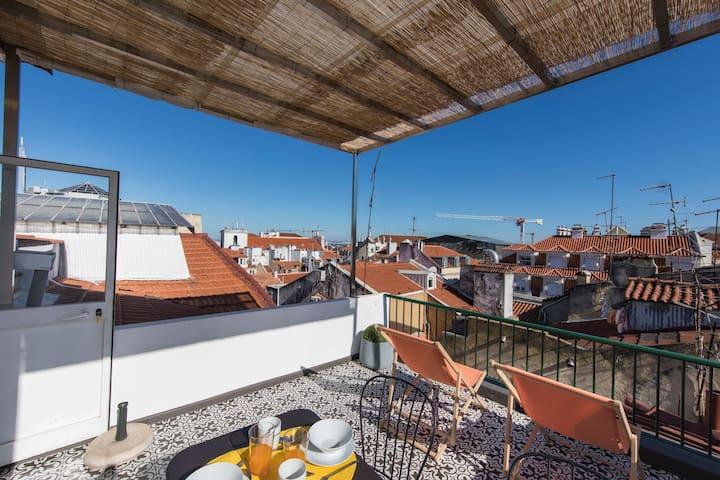 Bairro Alto Terrace Wonder
