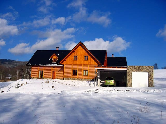 Holiday home-mountain cottage, wifi - Dolní Morava - Chatka w górach