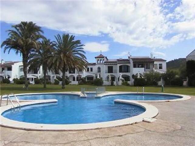 Casa Blanca met zwembad, parking, wifi, sat tv - Torroella de Montgrí - Huis