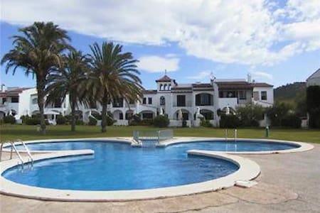 Casa Blanca pool wifi parking 4 pax - Torroella de Montgrí - Huis