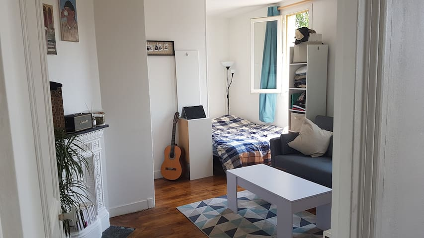 Appartement cosy 2 pièces à Boulogne