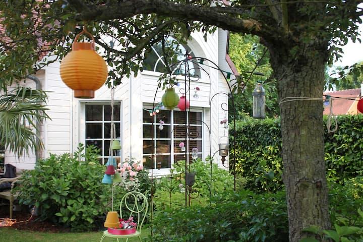 Design House with garden near Rouen