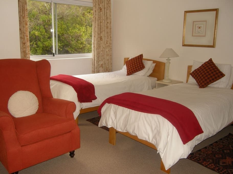 Room 13 - Twin beds with Mountain view