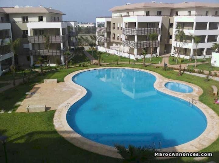 Appartement plage Bouznika