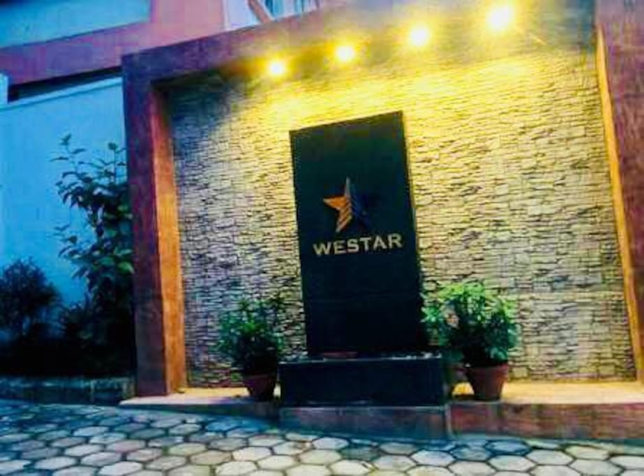 Westar Apartment Entrance Logo