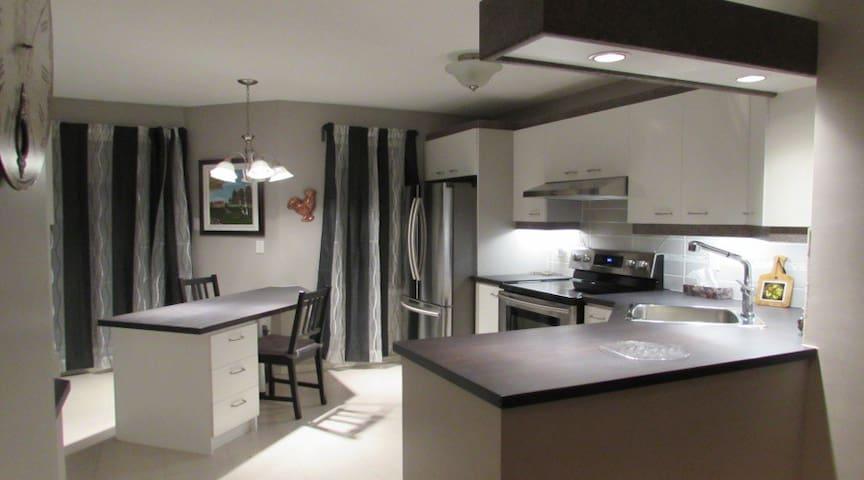 Full house Brossard short term rental 30 days+