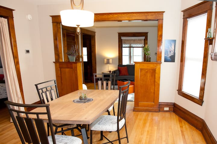 Comfy 2BR Apt in NE Arts District - Minneapolis - Daire