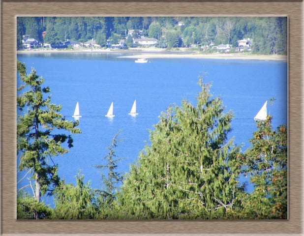 Private Suite with fantastic View! - Sechelt - Casa