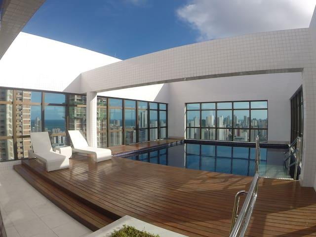 Flat mobiliado/Furnished flat BCBV 703 - Recife - Byt