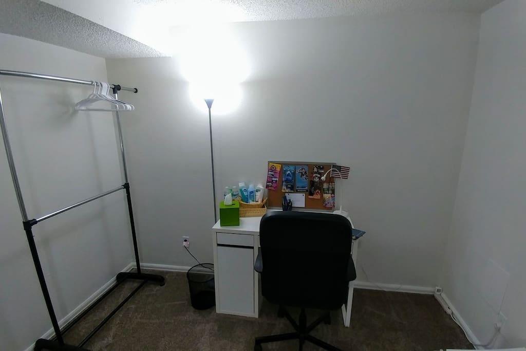 Personal desktop and portable closet