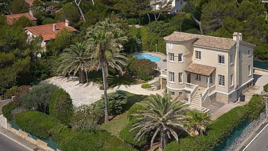 Nice villa near famous beach Keller sea view - Antibes - House