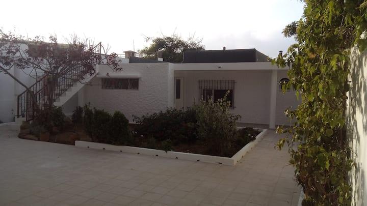 La villa aux hamacs