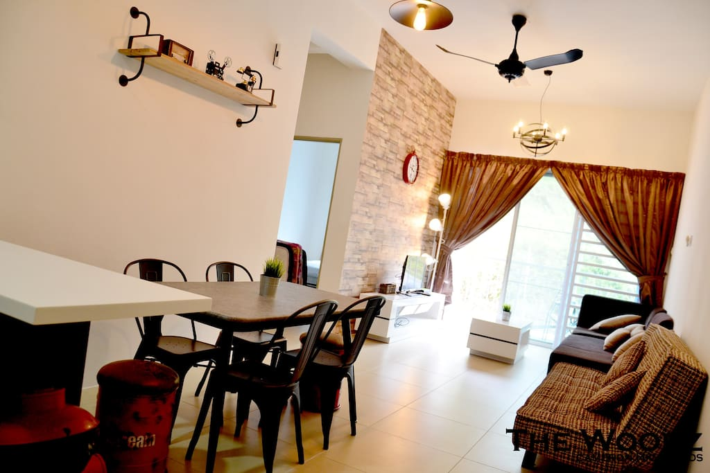 Dining Area & Living Hall
