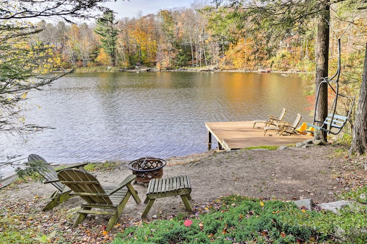 NEW! Waterfront 3BR Home in Tolland Steps to Lake!