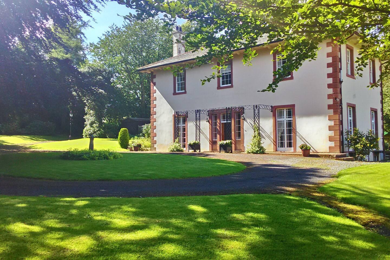 Ellenside House in summer