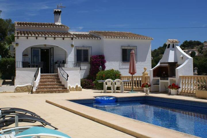 Jolie maison avec piscine privative au calme