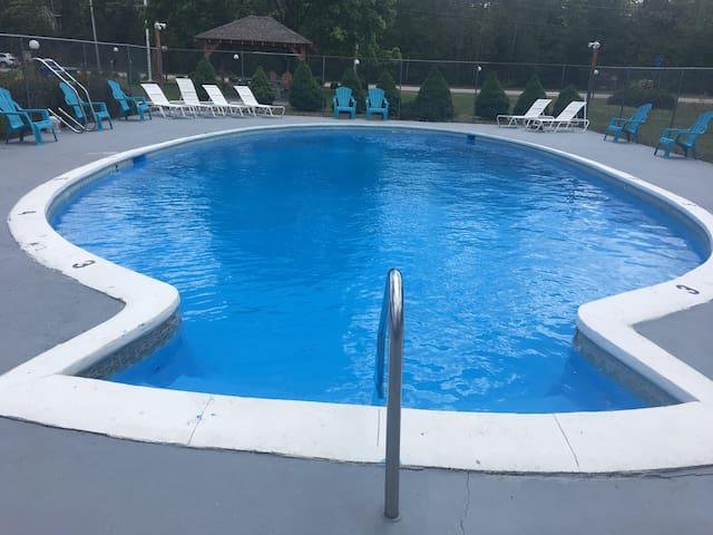 Aquastar Inn--Two full size bed