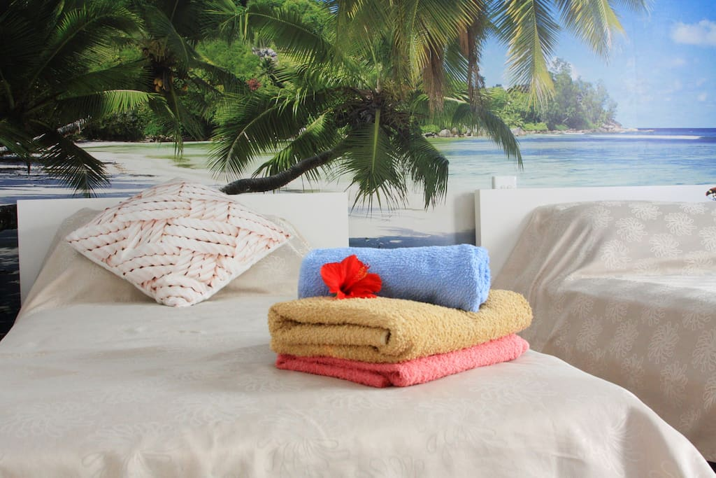 Enjoy your stay at The Seaside room