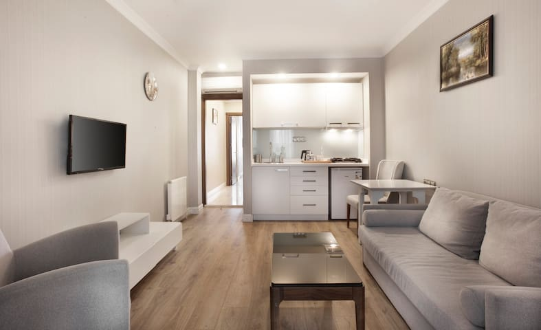 1+1 Relief Apartment-1 Min to Galata Tower