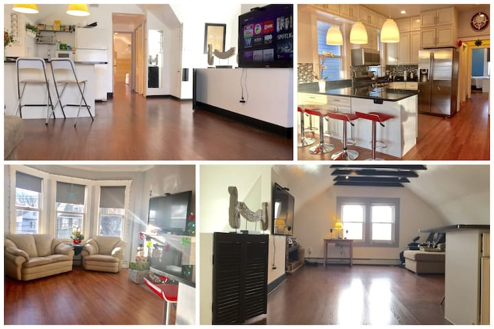 Duplex 4 Br 2 Bath (30m to Manhattan)