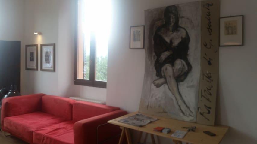 """""""A CASA DEL PITTORE """" - acquaseria  - Apartment"""